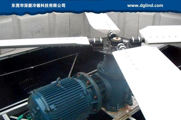 传统冷却塔的电机风机xi统