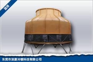 大型玻璃钢圆形冷却塔