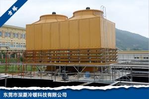 新型gao效防du塞污水冷却塔