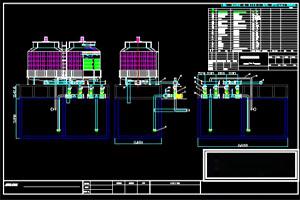 佛山立开机电200吨横流冷却塔