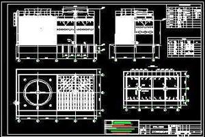 广东金辉hua集团375吨横流di噪音冷却塔方案